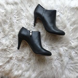 Vince Camuto Vive Side Zip Leather Bootie 6